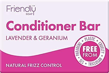 Friendly Soap Conditioning Bar Lavender & Geranium